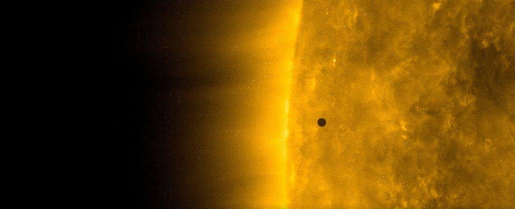 Транзит Меркурія через диск Сонця: НАСА опублікувало захоплююче відео - Сонце, Меркурій, космос - 13 merkuryj2