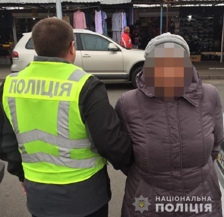 Столичними оперативниками затримано двох крадійок з Броварів -  - 19.11.2019deskradkarman
