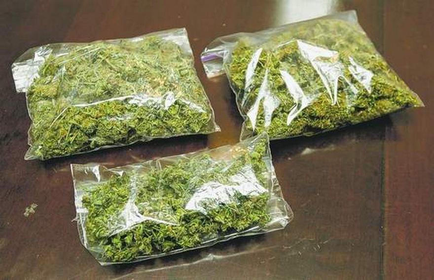 В Славутичі поліція затримала збувача наркотиків -  - 20170928 narkotiki marihuana paketyi