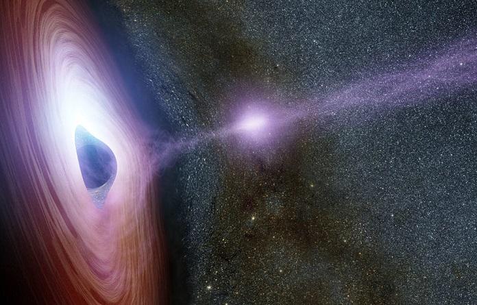 25_dyra Вперше знайдена галактика з трьома надмасивними чорними дірами