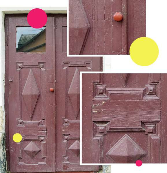Вікові двері Луцька намагаються врятувати за допомогою світлин на їхньому фоні -  - 36fb8b889e8a88d912fefa285714e785