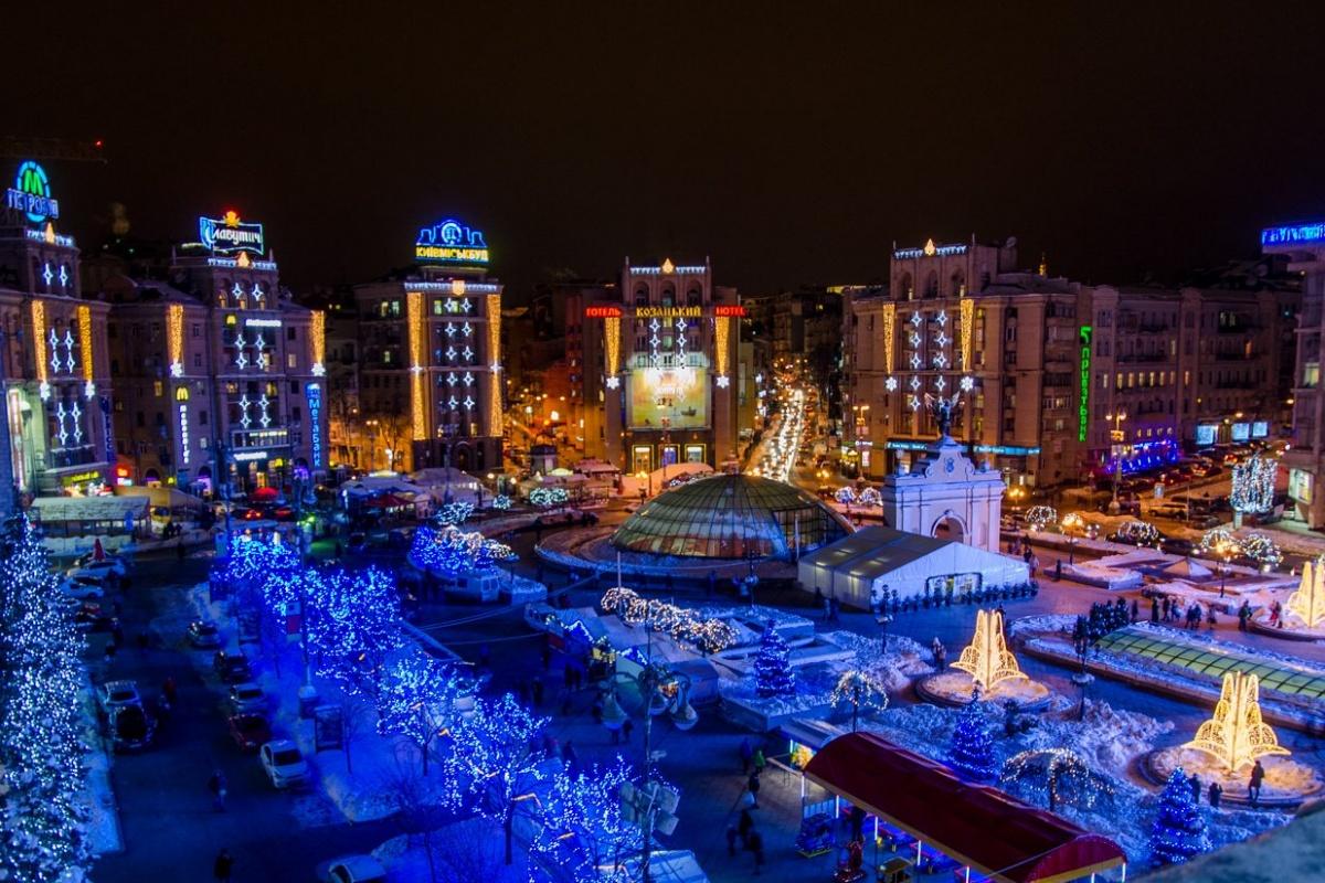 Київ почали прикрашати до Нового року -  - 5a292378f299c novyj rik u kyyevi e1509444247402 1200 2