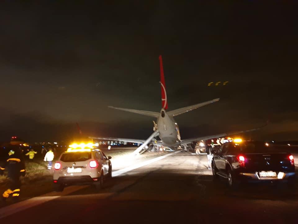 Сильний вітер здув літак авіакомпанії Turkish Airlines -  - 70078053 3305943622812211 4597328178980061184 n