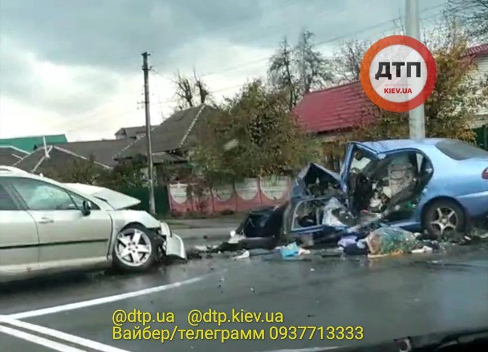 ДТП у Броварах: жінка-водій загинула -  - 70184253 1472153556283866 6117207063677370368 n
