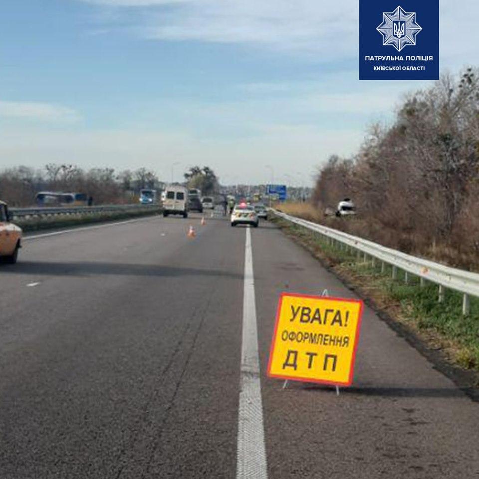 На автодорозі Київ-Харків пасажирський автобус зіткнувся із вантажівкою -  - 72992109 1564004343773153 4062096690356682752 n