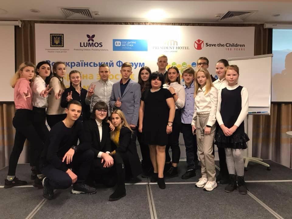 Школярі з Васильківщини поспілкувались з Президентом України