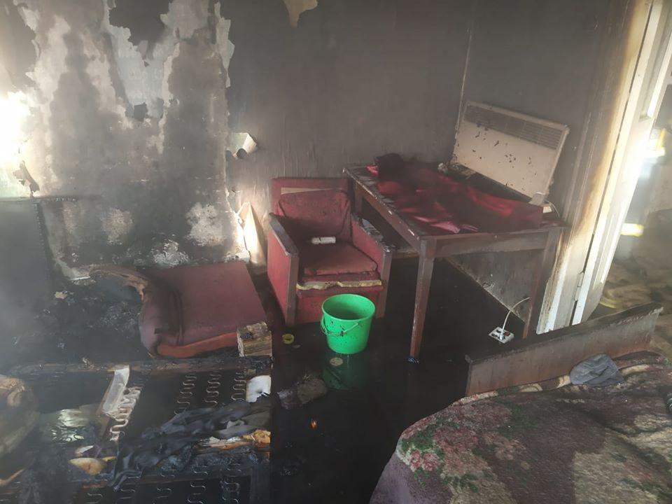 Яготин: через пожежу в будинку чоловік потрапив до лікарні -  - 74178229 504175390311423 196865130296770560 o