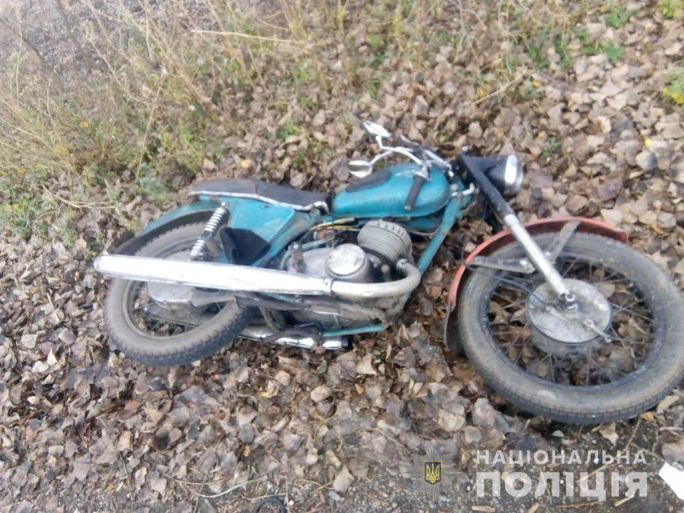 На автодорозі «Сквира – Погребище» водій мотоцикла не впорався із кермуванням -  - 74456195 2596186137103209 7675435187374653440 o