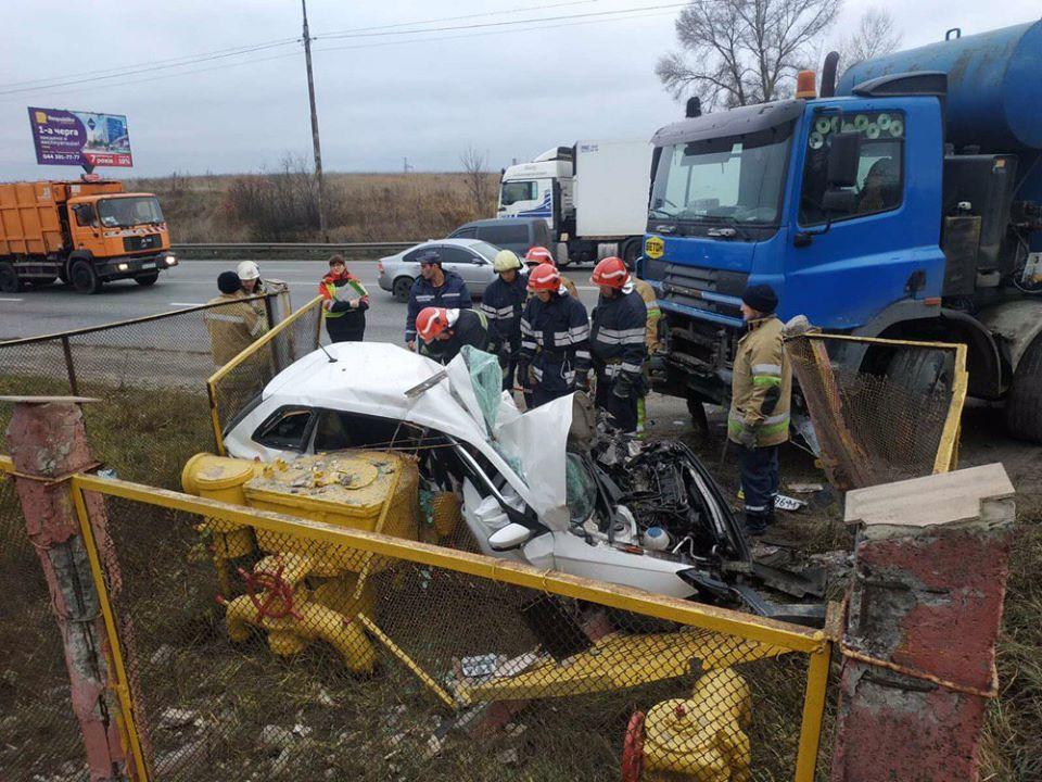 У Києві легковик зіткнувся із вантажівкою, загинула 21 річна дівчина -  - 74531156 2553598368053423 2560352768195821568 o