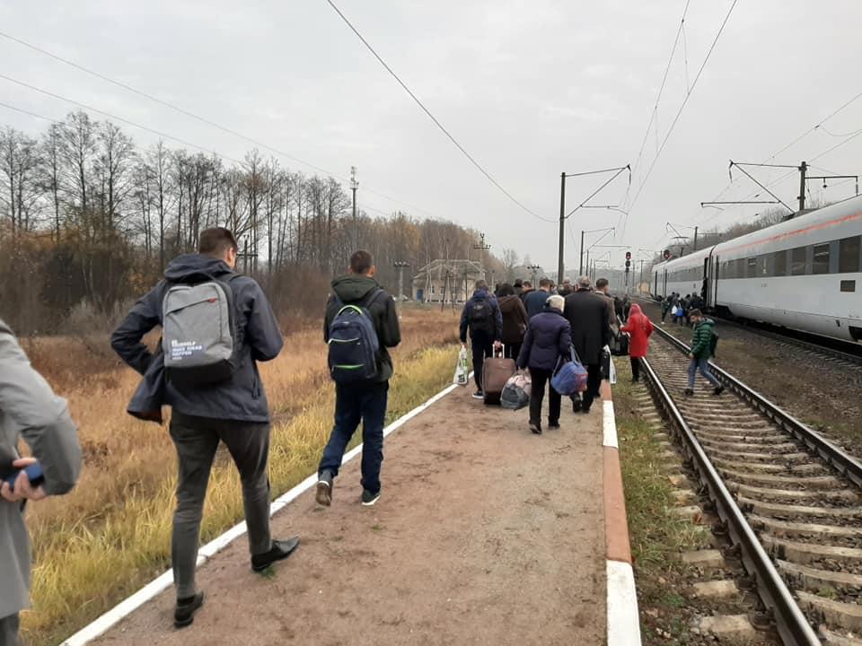 """74607628_2569426733110936_3788876486170116096_n Пасажирів потяга """"Львів — Київ"""" евакуювали через повідомлення про мінування"""