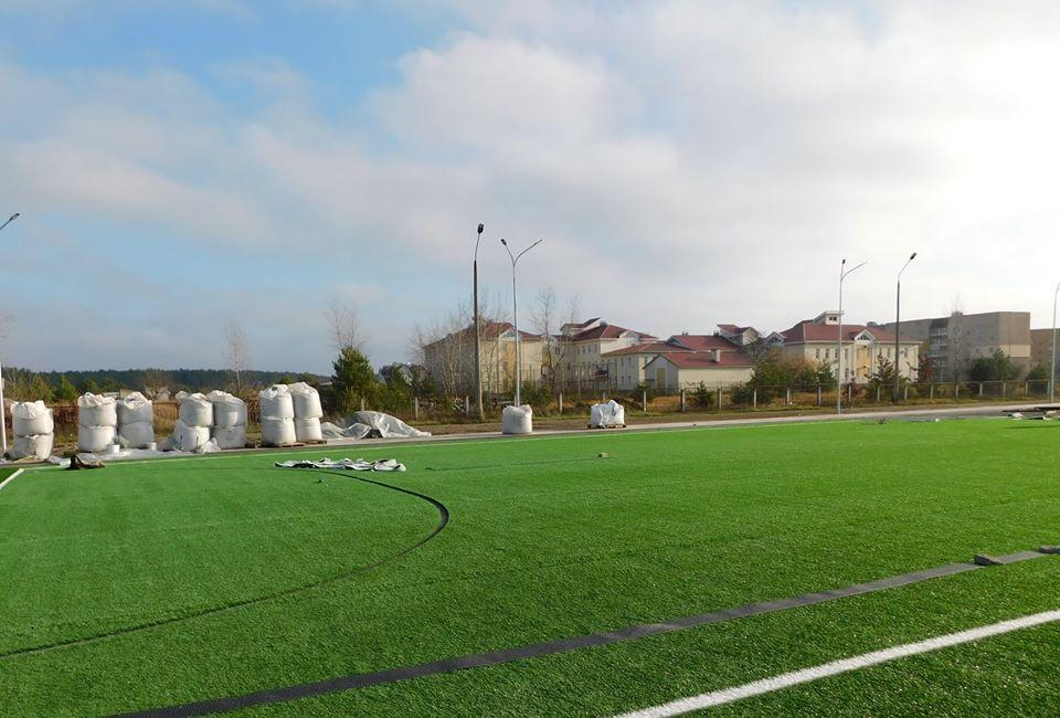 У Славутичі завершується будівництво багатофункціонального спортивного комплексу -  - 74887110 2546697795413118 7163526938831618048 o