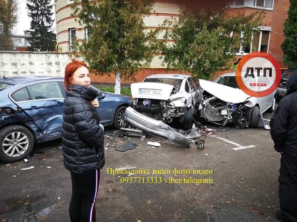 74910723_1477512419081313_7690220685305577472_n У ДТП в Боярці постраждало 6 автомобілів