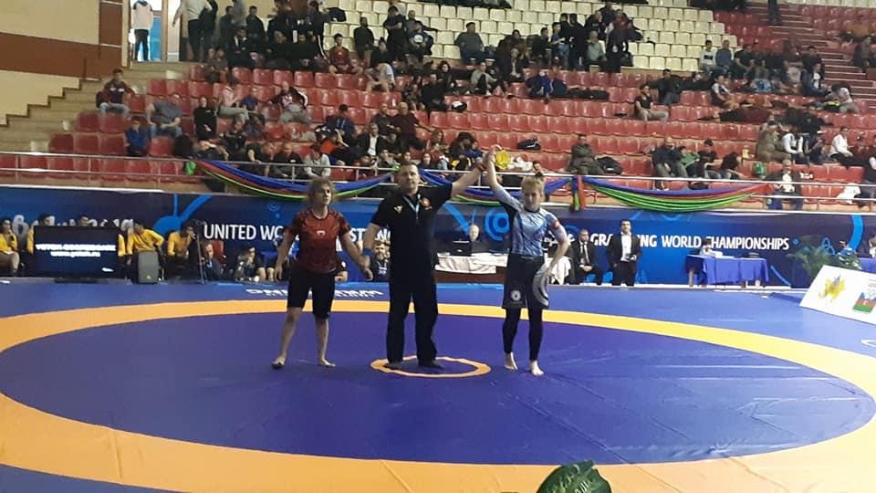 Вихованка Фастівщини Діана Григоренко здобула золото на чемпіонаті світу з греплінгу в Баку - Чемпіонат світу, Козацький лицарський клуб, греплінг - 75322627 2509343782723207 6675811510922510336 n