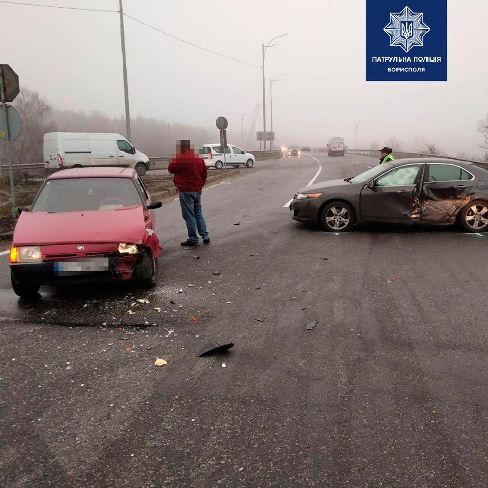 Під Борисполем водій автомобіля ЗАЗ спричинив ДТП -  - 75481717 2545258139029306 5836200315711389696 o