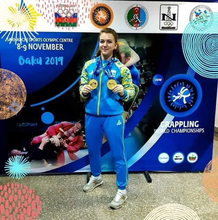 Вихованка Фастівщини Діана Григоренко виборола ще одне золото на чемпіонаті світу з греплінгу (ВІДЕО) - Чемпіонат світу, Фастівщина, греплінг - 75481812 2512284855762433 4683271866142425088 n