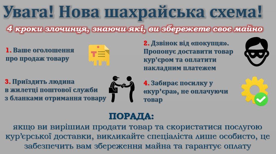 В Україні з'явився новий вид шахрайства -  - 75492476 2373384052769894 121351178507255808 o
