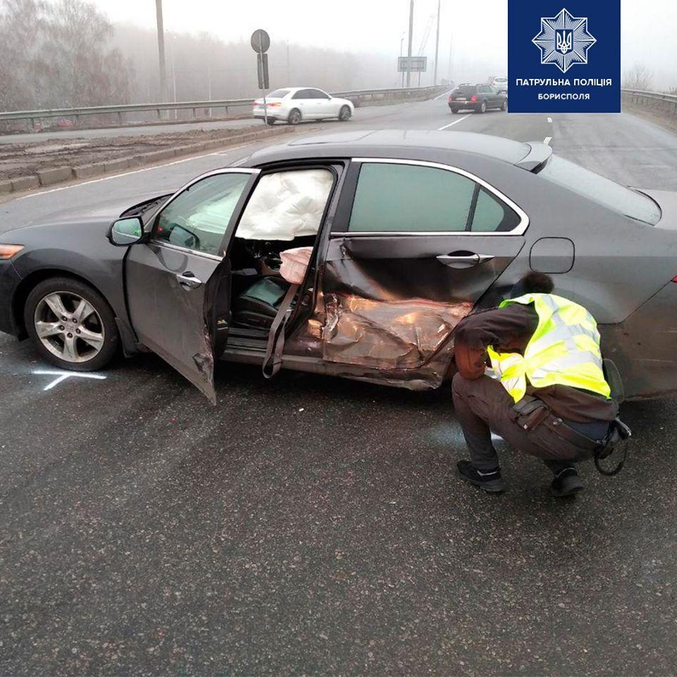 Під Борисполем водій автомобіля ЗАЗ спричинив ДТП -  - 75653199 2545258152362638 4640788351752863744 o