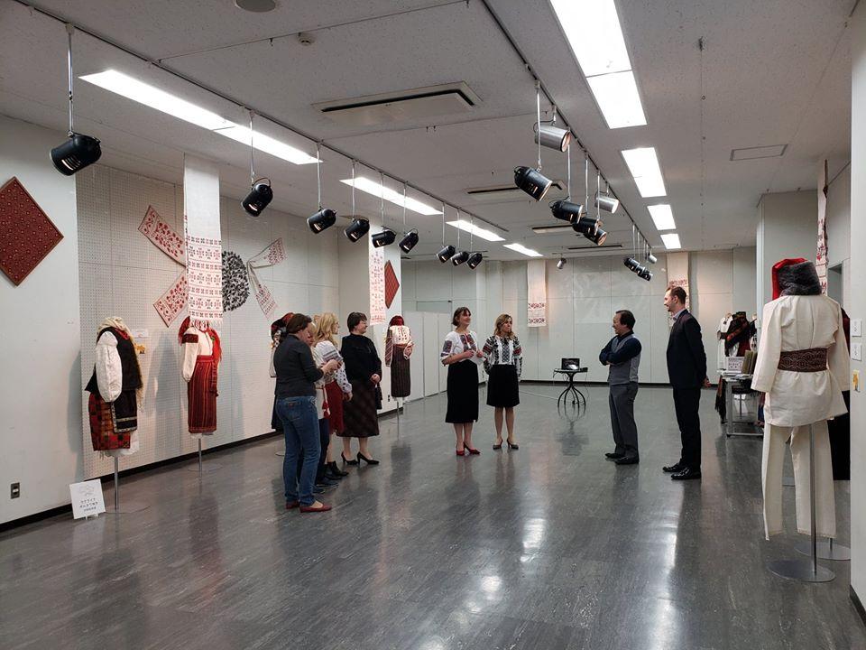 Українське національне вбрання презентували на виставці в японській столиці -  - 76197486 1213526868848802 717730696344371200 o