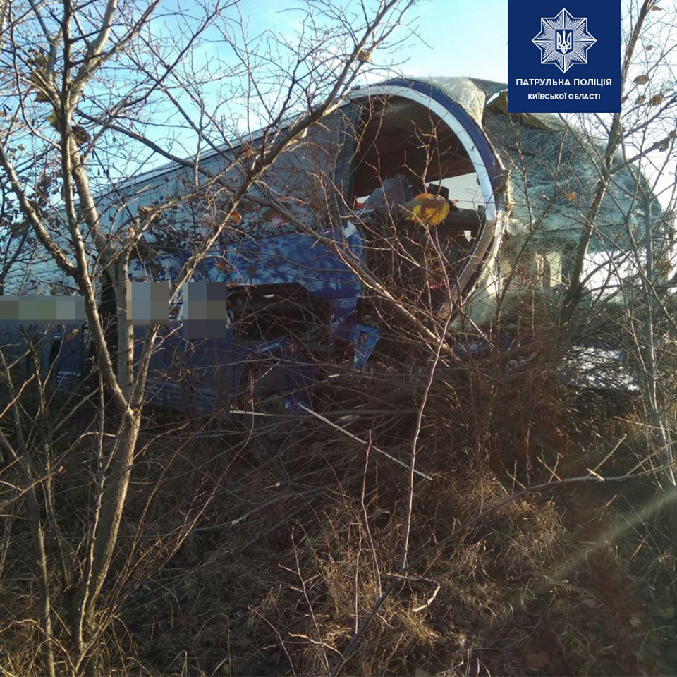 На автодорозі Київ-Харків пасажирський автобус зіткнувся із вантажівкою -  - 76615038 1564004467106474 6589202954232791040 n