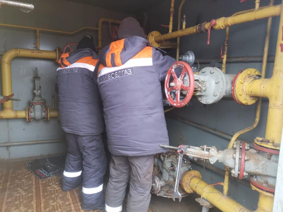 У трьох селах Васильківщини відновлюють газопостачання, припинене через аварію