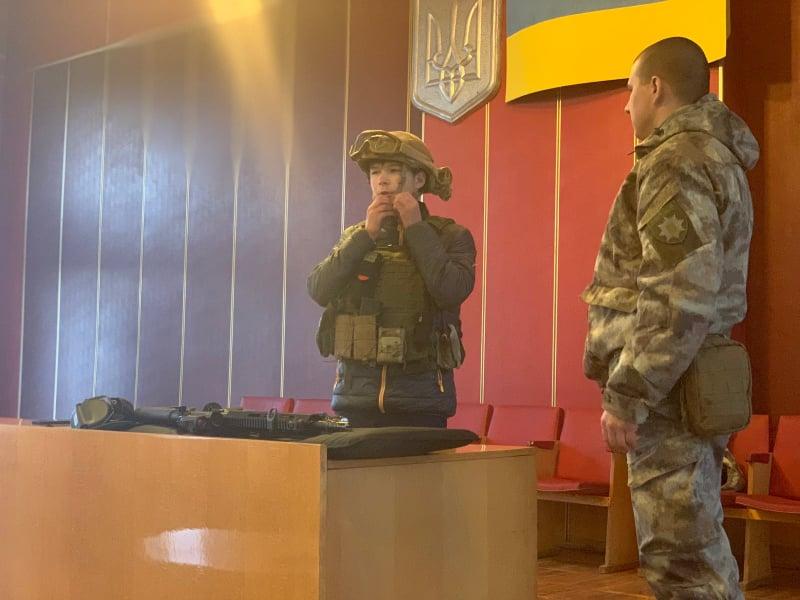 Обухівський відділ поліції запросив учнів на «День відкритих дверей» -  - 76759999 420412012203830 3507814672428433408 n
