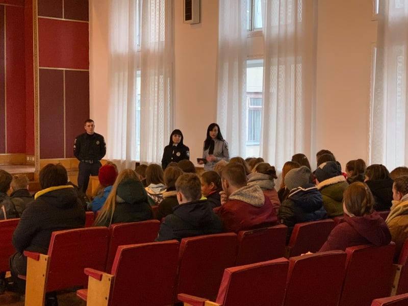 Обухівський відділ поліції запросив учнів на «День відкритих дверей» -  - 76990929 707788176394426 7190756314228719616 n