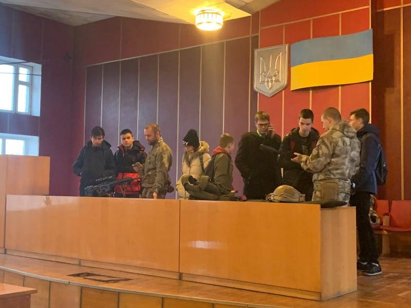 Обухівський відділ поліції запросив учнів на «День відкритих дверей» -  - 77394486 2164228067219897 9071932804257808384 n