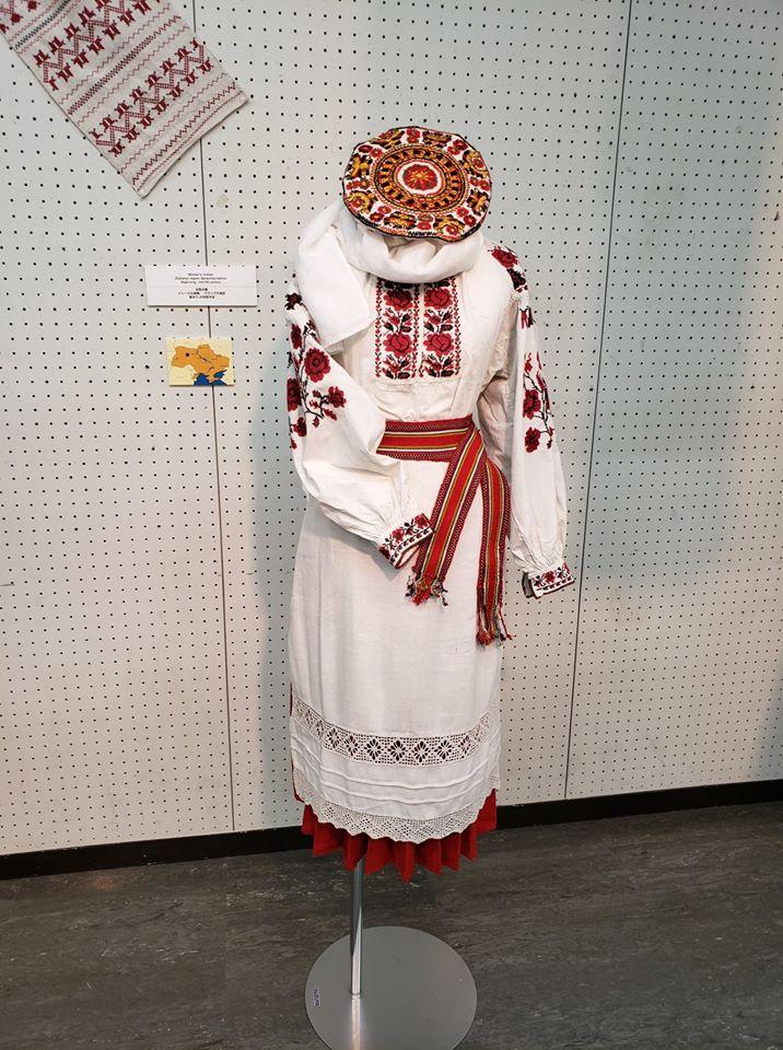 Українське національне вбрання презентували на виставці в японській столиці -  - 78629010 1213526895515466 346510256269950976 o