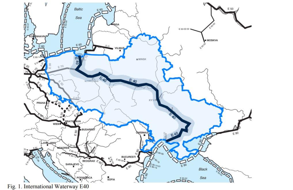 В Україні планують з'єднання Балтійського та Чорного морів річковими шляхами -  - 80f15f90816df2ee3a9e2aadabc64c4a