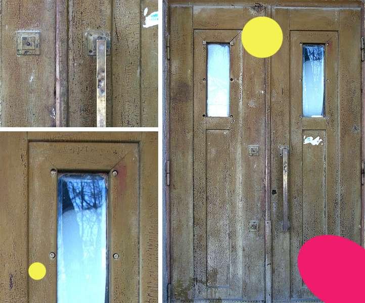 Вікові двері Луцька намагаються врятувати за допомогою світлин на їхньому фоні -  - 8ccc33be8bad5379f57dc68a77b2792a
