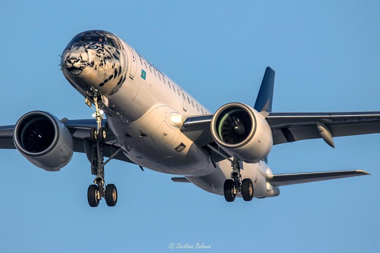 """У аеропорту """"Бориспіль"""" приземлився літак із лівреєю сніжного барса -  - AKSNcOtYMQW0aHZC1mkn"""