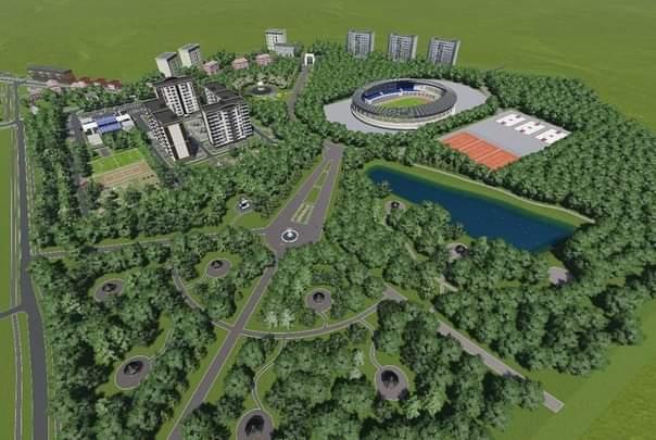 Boyarka-maket На захист парку: в Боярці влада планує пустити під висотну забудову частину зеленої зони