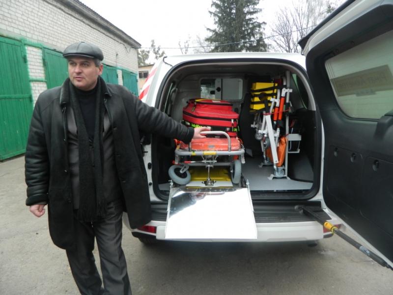 «Яготинський центр медико-санітарної допомоги» отримав новий медичний автомобіль -  - DSCN3814