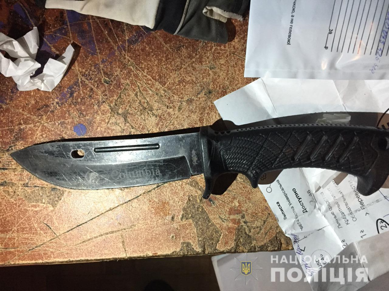 Irp-2-rozb-nap-1 В Ірпені наркоман вчинив два озброєні напади на жінок протягом години