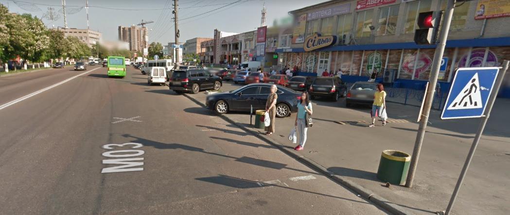 У Борисполі легковик збив двох людей -  - Novyj rysunok 2 2
