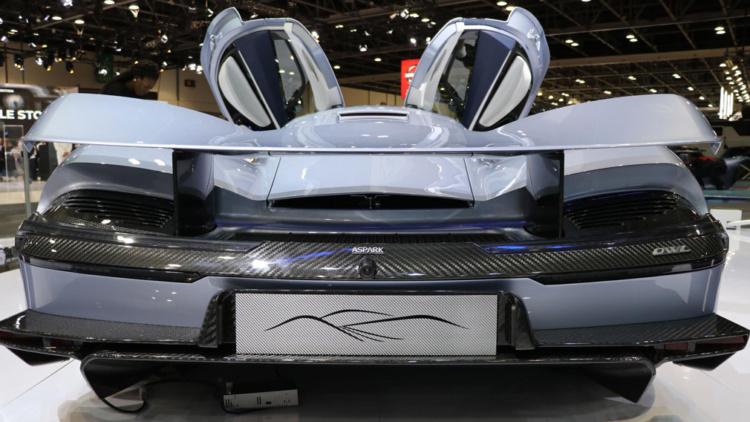 2000 кінських сил: найпотужніший в світі серійний електрогіперкар презентували в Дубаї -  - Owl 001