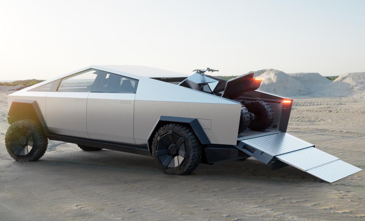 """Tesla представила броньований футуристичний пікап Cybertruck - """"улюбленого монстра"""" Ілона Маска - Ілон Маск, Tesla - Screenshot 3 3"""