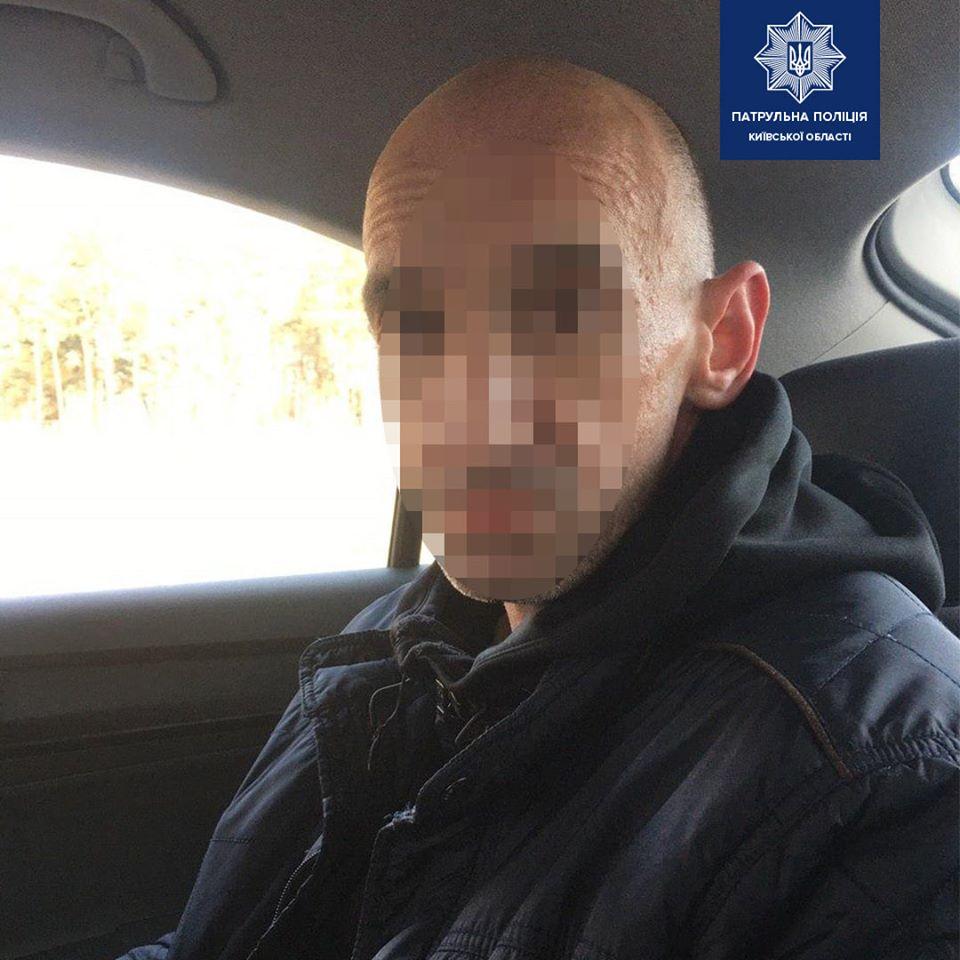 Ugon-1 Катався не довго: патрульні Чайок оперативно затримали чоловіка, який кермував викраденою машиною