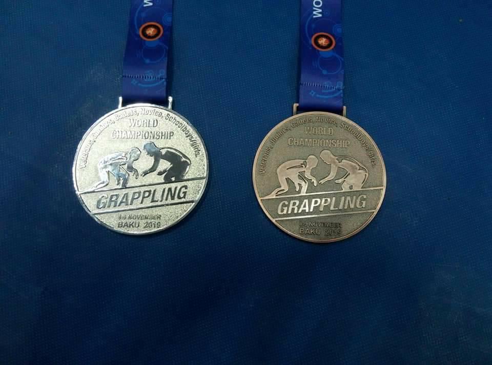 """baku-wc-2019-Chehr-medal """"Срібло"""" та три """"бронзи"""": ірпінські студенти відзначилися на чемпіонаті світу з грепплінгу"""