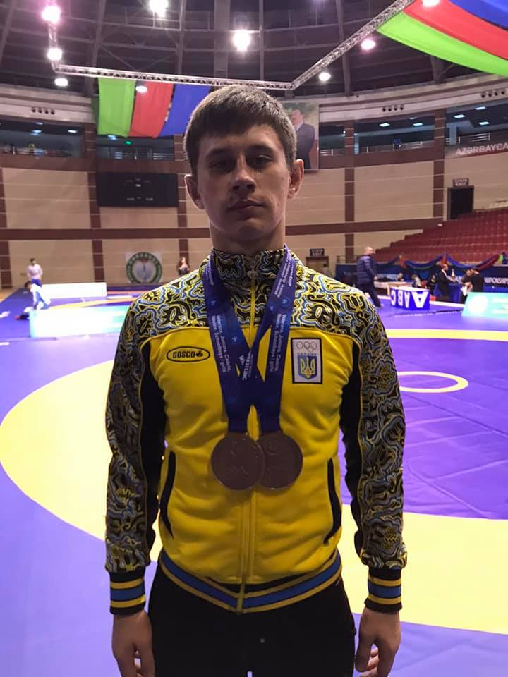 """baku-wc-2019-Chorn-0 """"Срібло"""" та три """"бронзи"""": ірпінські студенти відзначилися на чемпіонаті світу з грепплінгу"""