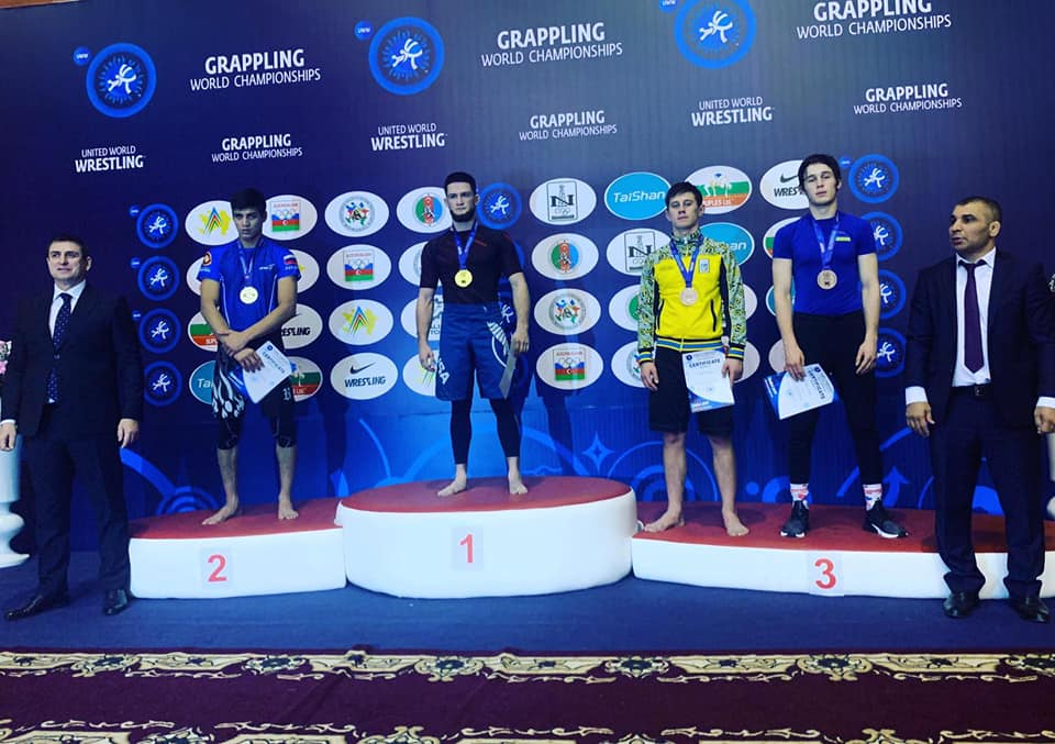 """baku-wc-2019-Chorn-00 """"Срібло"""" та три """"бронзи"""": ірпінські студенти відзначилися на чемпіонаті світу з грепплінгу"""