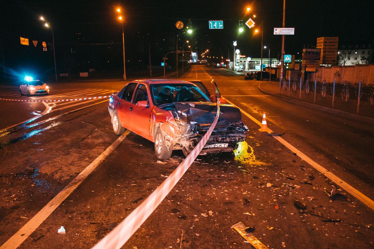П'яний водій легковика спричинив лобове зіткнення -  - dtp 4 iz 9