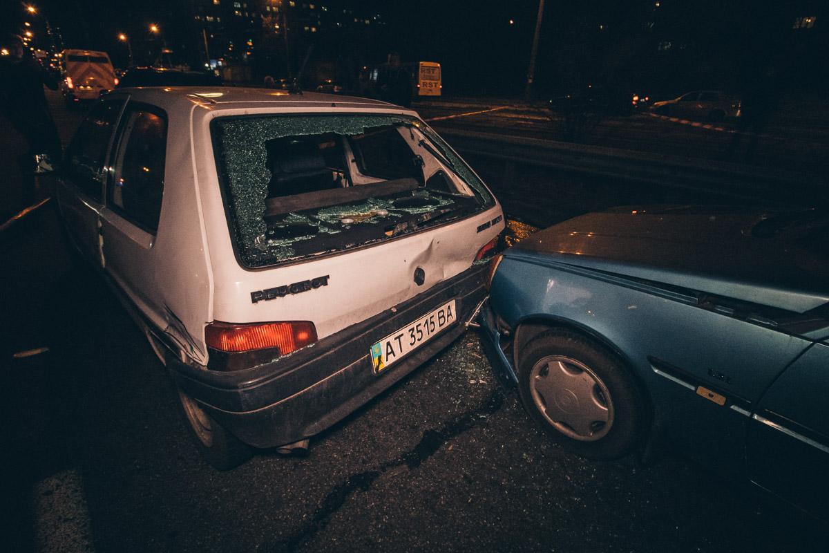 Через відмову гальм вантажівка протаранила 7 авто -  - dtp bratislavskaya 3