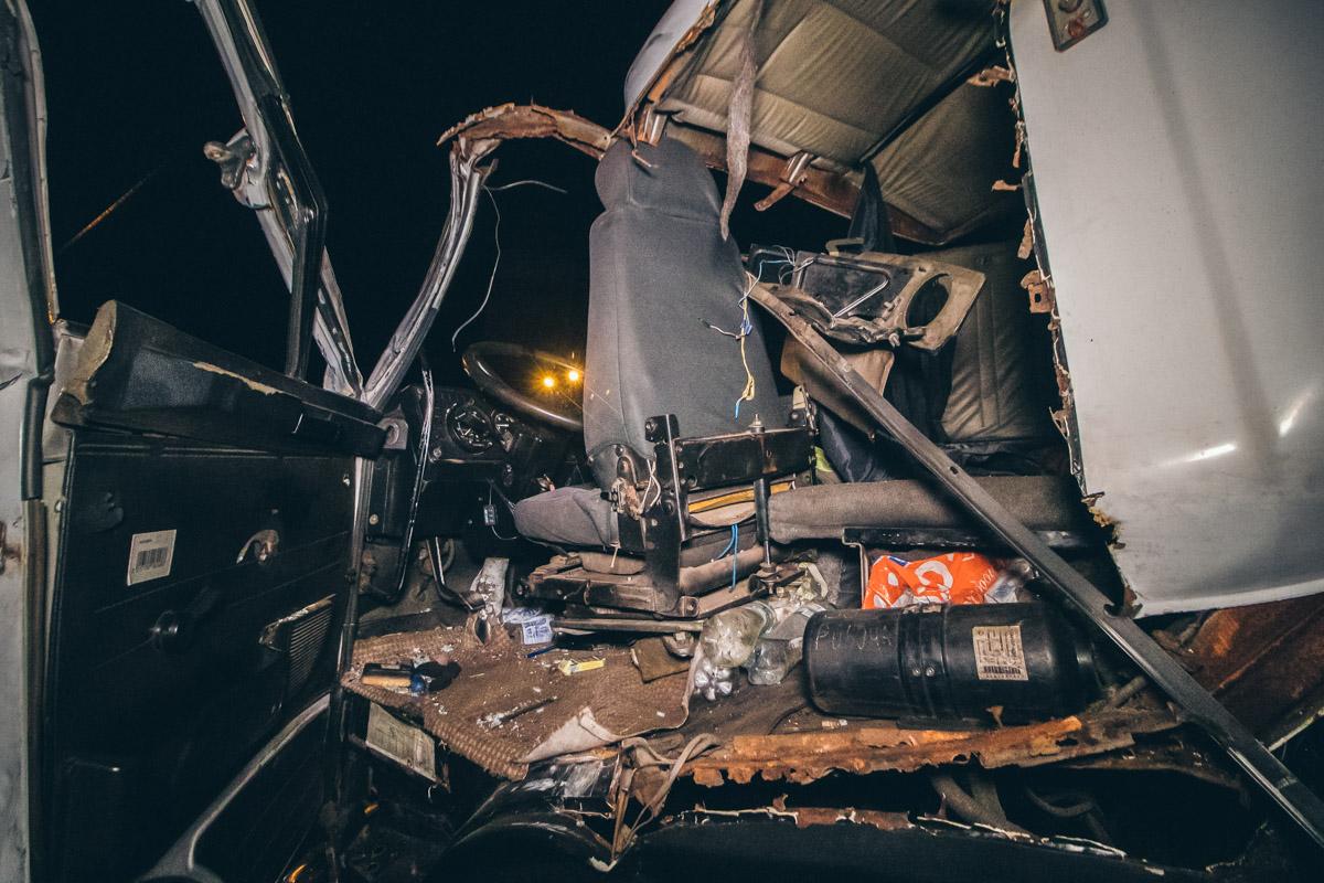Через відмову гальм вантажівка протаранила 7 авто -  - dtp bratislavskaya 6
