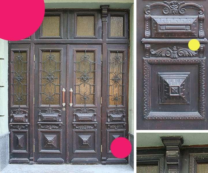 Вікові двері Луцька намагаються врятувати за допомогою світлин на їхньому фоні -  - e097ab979acca6d4efb8c29787e99208