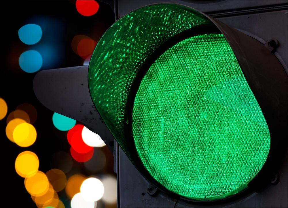 У Києві з'явився незвичайний світлофор з підсвіткою -  - ff7ecba3b1933072ba921561e320d8a1