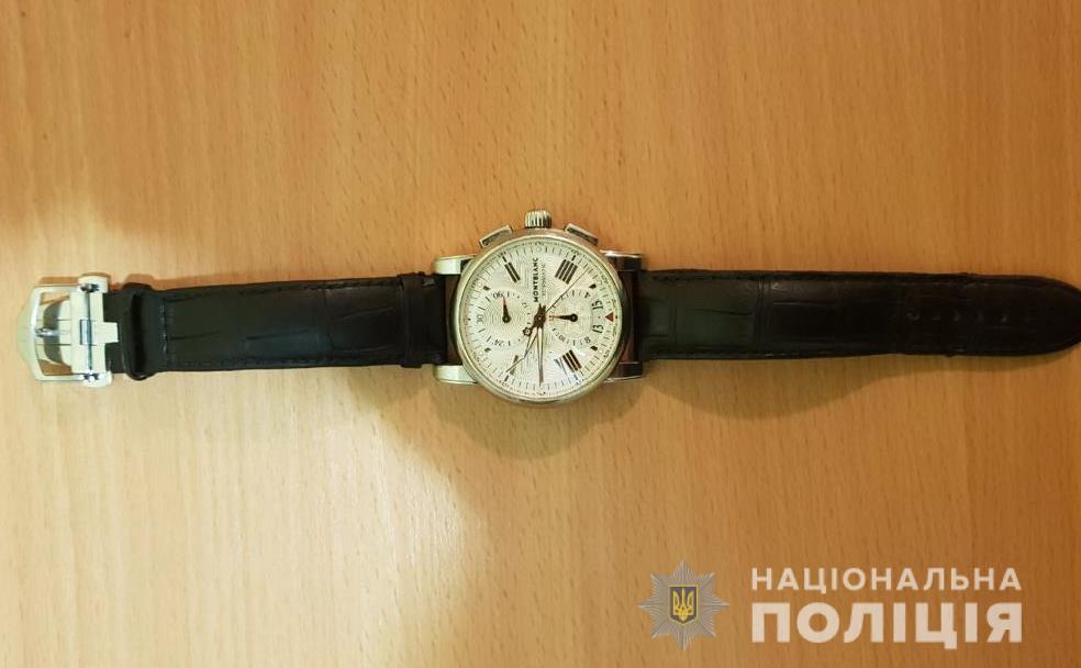 """godynbrovary1 У Броварах затримали """"поціновувача"""" чужих елітних годинників"""