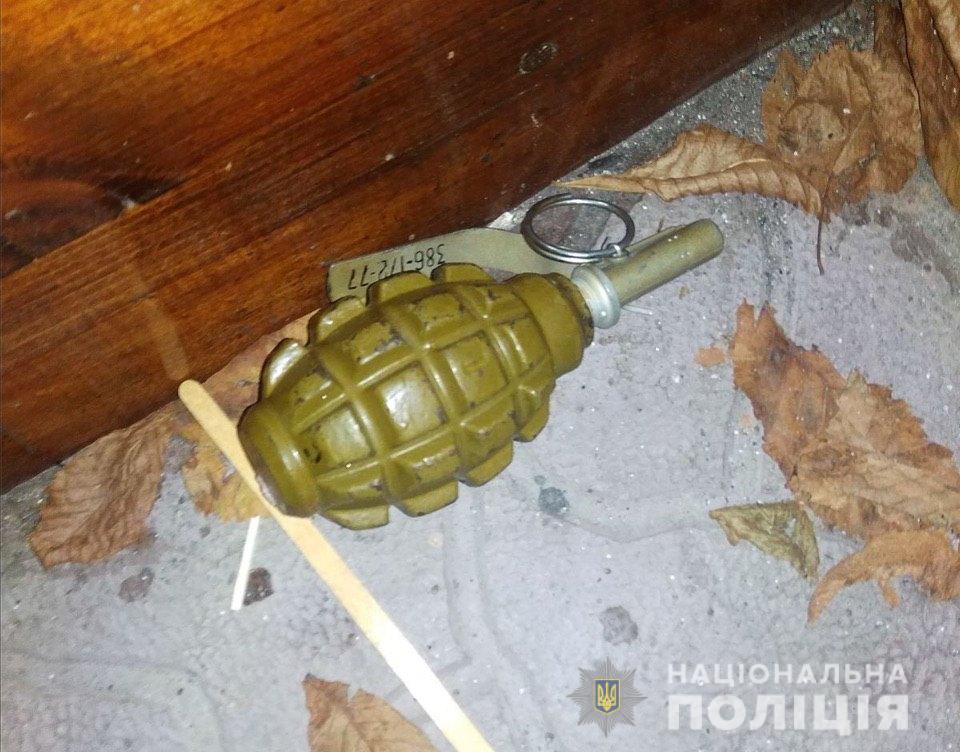 На Фастівщині місцевий житель прийшов до клубу з гранатою в кишені - Фастівський район - granatafastiv1