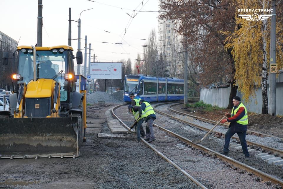 Тимчасові незручності: на Михайлівський Борщагівці капітально ремонтують колії - Борщагівка - m Borshhpgivka