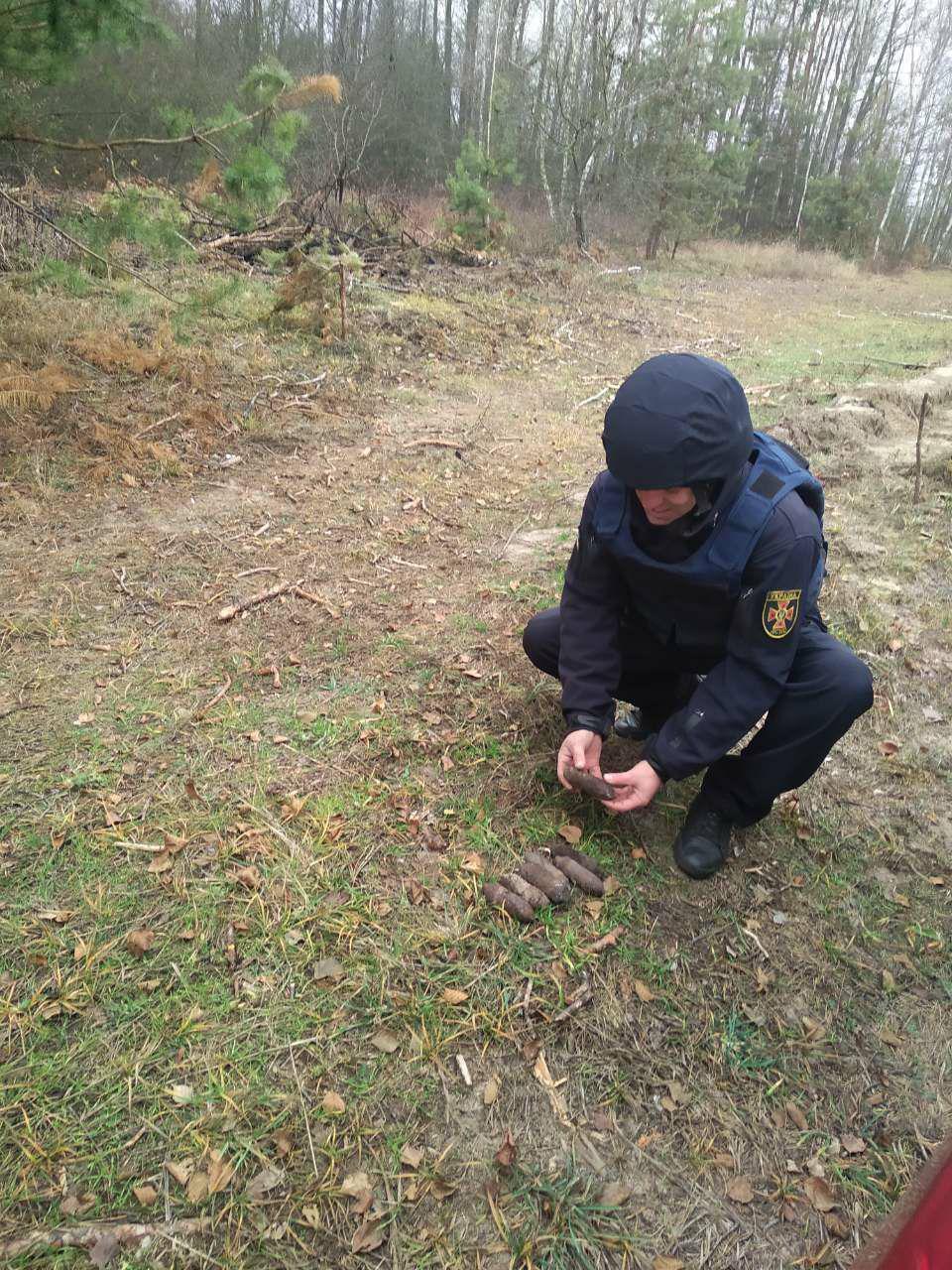 На Іванківщині виявили та знешкодили артилерійські снаряди -  - photo 2019 11 20 14 45 14
